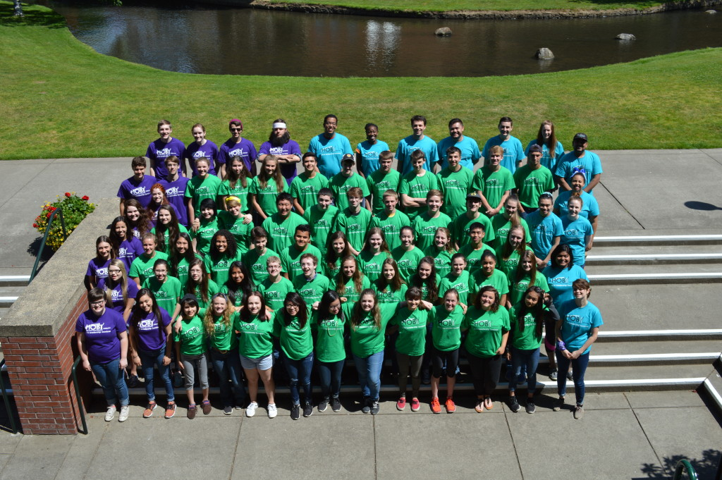 The 2016 HOBY Oregon Leadership Seminar held at Willamette University in Salem, Oregon.