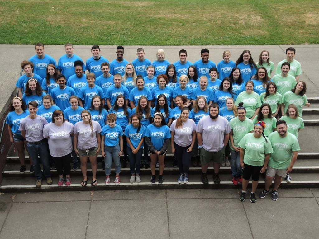 The 2018 HOBY Oregon Leadership Seminar held at Willamette University in Salem, Oregon.
